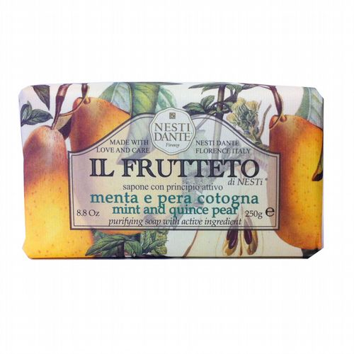 Nesti Dante Soap - Il Frutteto - Mint and Quince Pear